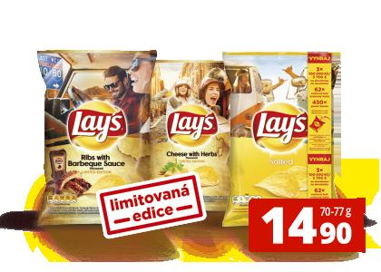Lay's za 14,90 Kč