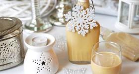 Vaječný likér s pravou vanilkou