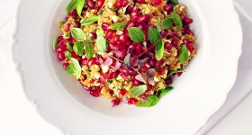 Granátová quinoa