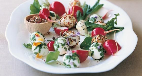 Jarní křepelčí vejce