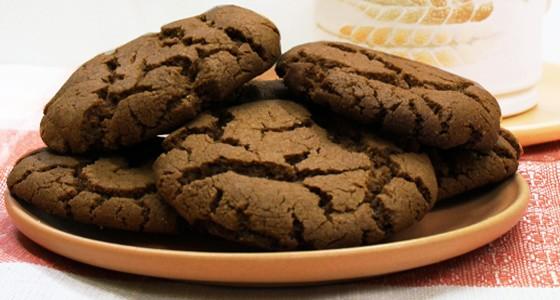 Čokoládové sušenky z červené čočky