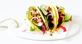 Mexické tacos s tempehem