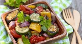 Salátek s grilovanou zeleninou