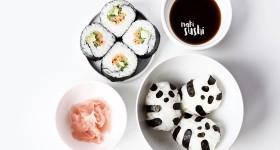 Zeleninové maki sushi