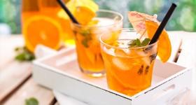 Domácí oranžáda