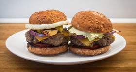 Bezlepkový hamburger Nutrifree