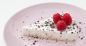 (Ne)pečený kokosový cheesecake