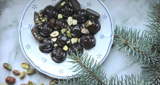 Ořechové pralinky