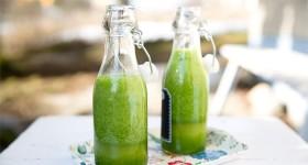 Jarní zelené smoothie