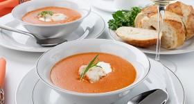 Krevetová polévka bisque