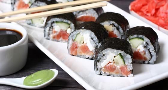 Maki sushi