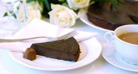Čokoládový koláč bez mouky