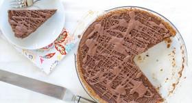 Čokoládovo-dýňový koláč