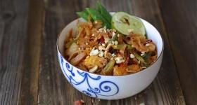 Pad thai s tamarindem