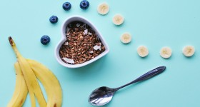 Banánová granola
